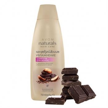 """Шампунь для волос с ароматом шоколада и бразильского ореха """"Непревзойденное увлажнение"""""""